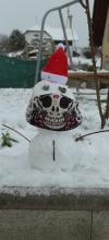 Julija's snowman