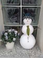 Klara's snowman