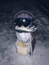 Nataša's snowman
