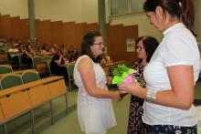 Uspešna dijakinja na poklicni maturi - Pija Šepec
