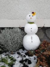 Klara's snowman number 2